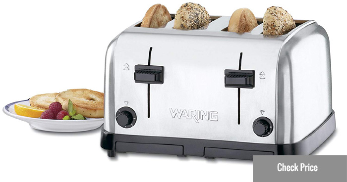waring commercial pop up toaster