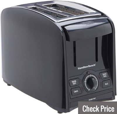hamilton beach cool touch 2 slice toaster review