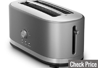 kitchenaid 4 slice long slot toaster